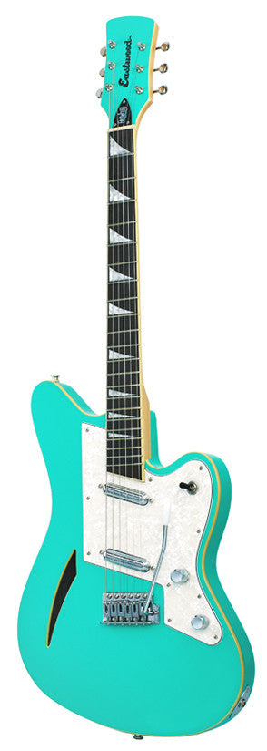 Eastwood Surfcaster Guitar - Sea Foam Green