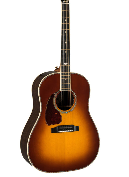 Gibson J-45 Deluxe Rosewood Burst Left-Handed Acoustic Guitar With Case