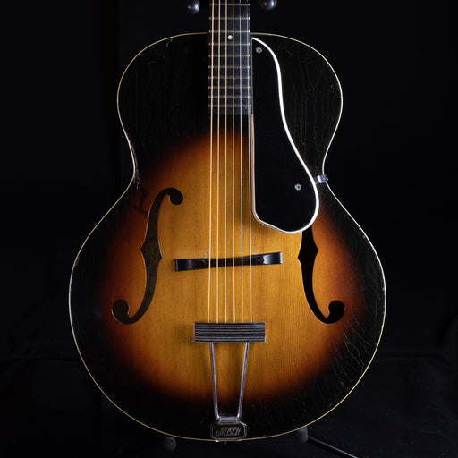 Vintage 1958 Gretsch 6050 New Yorker Archtop Guitar Sunburst With Non-OHSC