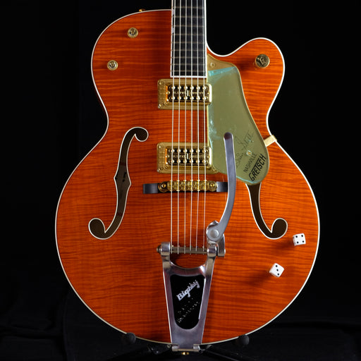 Used '02 Gretsch 6120SSU Brian Setzer 6120 Orange Flame Maple With OHSC
