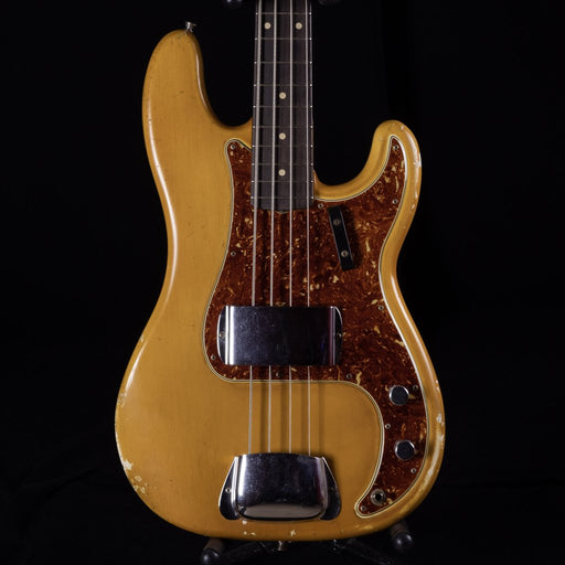 Used Fender Custom Shop Masterbuilt 1963 Precision Bass Heavy Relic Aged Olympic White With Case