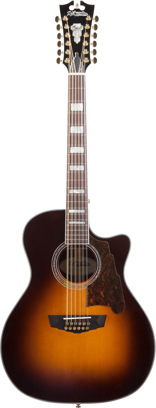 D'Angelico Premier Fulton 12-String Acoustic-Electric Guitar Sunburst