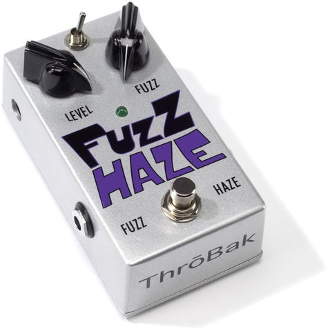 ThroBak Guitar Effects Pedals Fuzz Haze