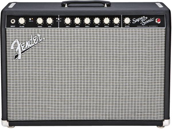 Fender Super-Sonic 22 Combo Black