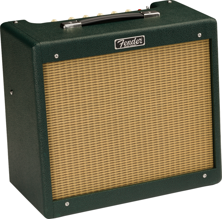 Fender 2020 Limited Edition Blues Junior IV Jensen C12Q Racing Green Tube Guitar Amplifier Combo