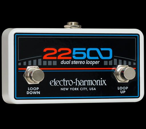 Electro-Harmonix 22500 Foot Controller Dual Stereo Looper Pedal