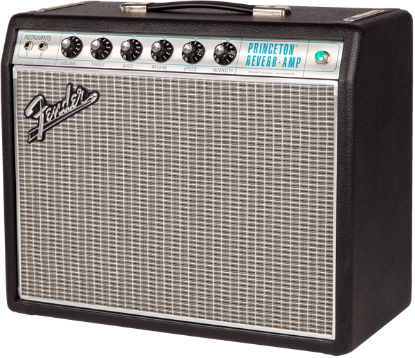 Fender '68 Custom Princeton Reverb 1x10 12 Watt 6V6 Tube Guitar Amplifier