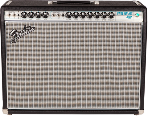 Fender Silverface '68 Custom Twin Reverb Tube Guitar Amplifier