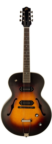 The Loar LH-279 CVS Maple Top Dual P-90 Archtop Electric Guitar Vintage Sunburst