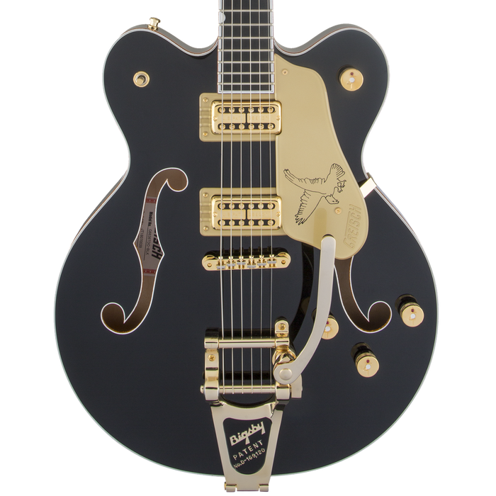 Gretsch G6636T Players Edition Falcon Center Block Double-Cut String-Thru Bigsby Filter'Tron Pickups Black