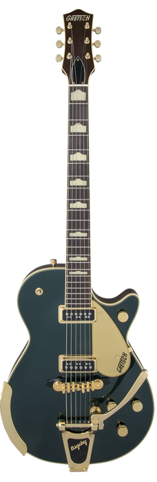 Gretsch G6128T-57 Vintage Select '57 Duo Jet With Bigsby TV Jones Cadillac Green