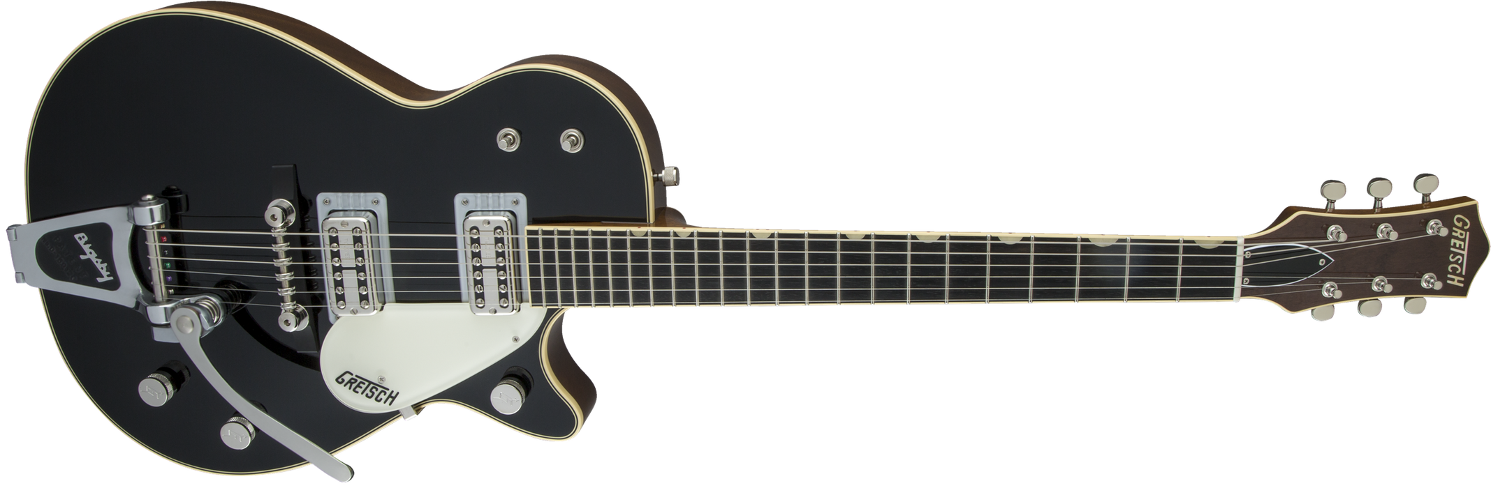 Gretsch G6128T-59 Vintage Select '59 Duo Jet with Bigsby TV Jones Black