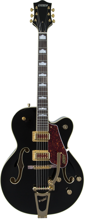 Gretsch G5420TG Limited Edition Electromatic '50s Hollow Body Single-Cut with Bigsby and Gold Hardware Rosewood Fingerboard Black Electric Guitar