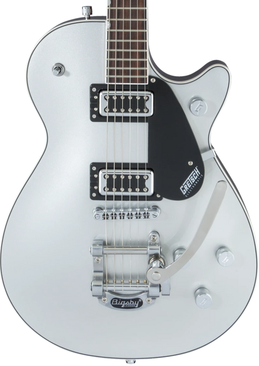 Gretsch Guitars G5230T Electromatic Jet with Bigsby Electric Guitar Airline Silver