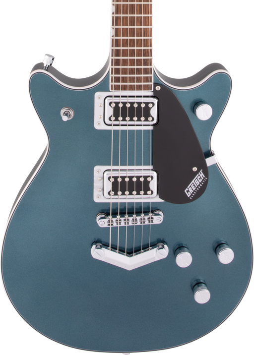 Gretsch G5222 Electromatic Double Jet BT V-Stoptail Jade Grey Metallic