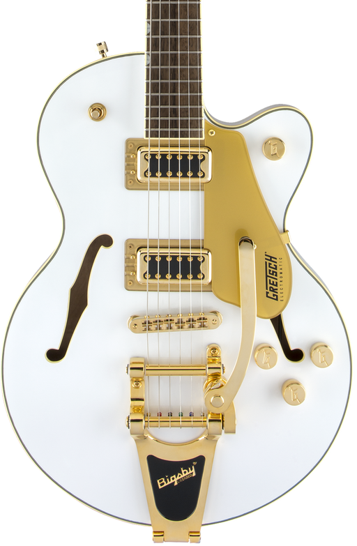 Gretsch Limited Edition G5655TG Jr. Snow Crest White