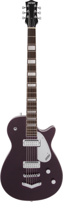 Gretsch G5260 Electromatic Jet Baritone with V-Stoptail Laurel Fingerboard Dark Cherry Metallic Electric Guitar