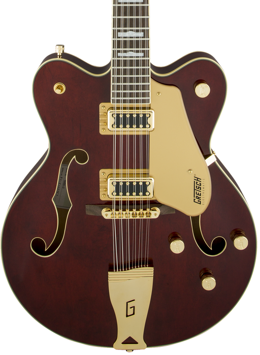 Gretsch G5422G-12 Electromatic Hollow Body Double-Cut 12-String with Gold Hardware Walnut Stain