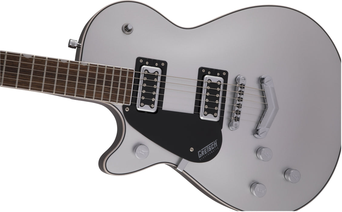 Gretsch G5230LH Electromatic Jet FT Single-Cut Airline Silver Left-Handed Guitar