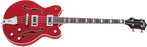 Gretsch G5442BDC Electromatic Hollow Body Short Scale Bass Transparent Red