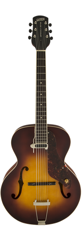 Gretsch G9555 New Yorker Archtop Guitar with Pickup Semi-gloss Vintage Sunburst