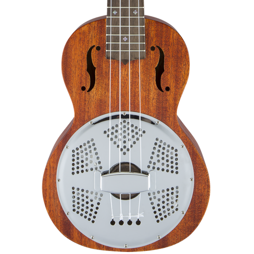 Gretsch G9112 Resonator-Ukulele with Gig Bag Ovangkol Fingerboard Biscuit Cone Honey Mahogany Stain