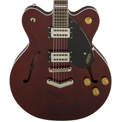 Gretsch G2622 Streamliner Center Block With V-Stop Tailpiece Broad'Tron Pickups Walnut Stain