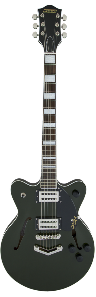 Gretsch G2655 Streamliner Center Block Jr. with V-Stoptail, Broad'Tron Pickups Torino Green