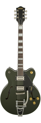 Gretsch G2622T Streamliner Center Block with Bigsby, Broad'Tron Pickups, Torino Green