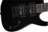 Jackson JS Series Dinky Minion JS1X Amaranth Fingerboard Gloss Black Mini Guitar