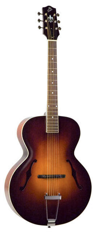 The Loar LH-600 Archtop Acoustic Guitar Vintage Sunburst