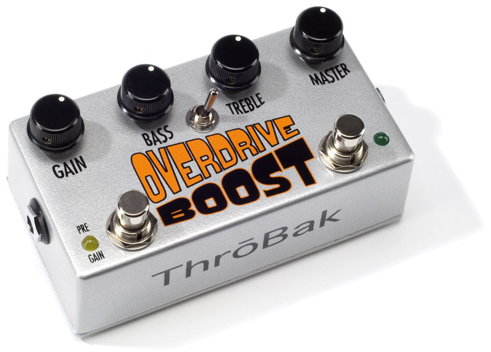 ThroBak Guitar Effects Pedals Overdrive Boost