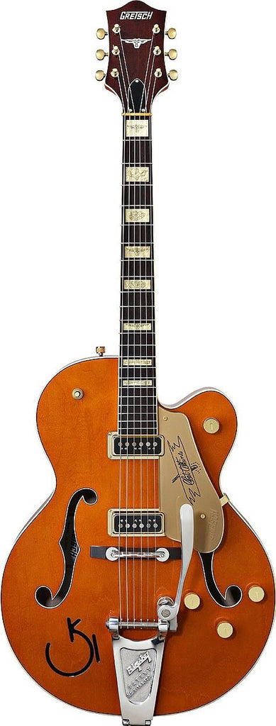 Gretsch Guitars G6120DSW Chet Atkins Hollowbody Electric Guitar Orange