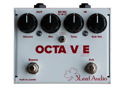 3Leaf Audio Octabvre Mk II Dual Mode Analog Octave Guitar Pedal