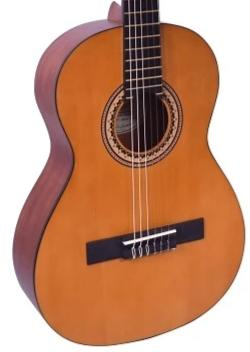 Valencia 3/4 Size Series 200 Hybrid Neck Natural Nylon Acoustic Guitar - VC203H-U