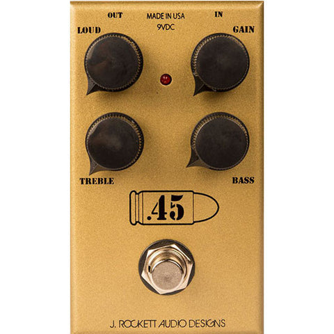 J Rockett Audio Designs Tour Series .45 Caliber Overdrive Guitar Effect Pedal