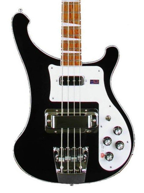 Rickenbacker 4003 Bass Guitar Jetglo With OHSC 4003JG