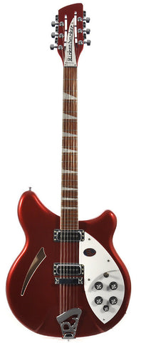 Rickenbacker 360/12 Ruby Red Semi Hollow Guitar With OHSC