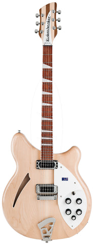 Rickenbacker 360 Mapleglo Semi Hollow Guitar With OHSC