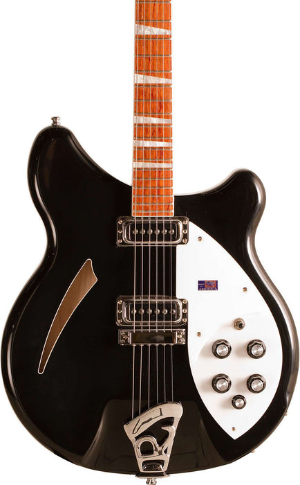 Rickenbacker 360 Jetglo Semi Hollow Guitar With OHSC
