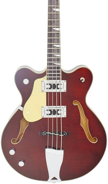 Eastwood Classic 4 Bass - Walnut Left Handed