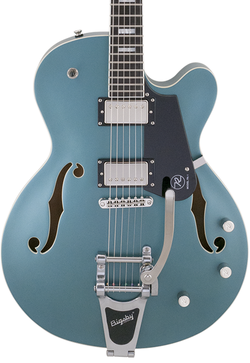 Reverend Pete Anderson PA-1 HB Custom Signature With Bigsby Satin Deep Sea Blue