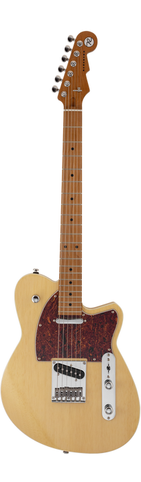 Reverend Trickshot Roasted Maple Neck Electric Guitar Natural