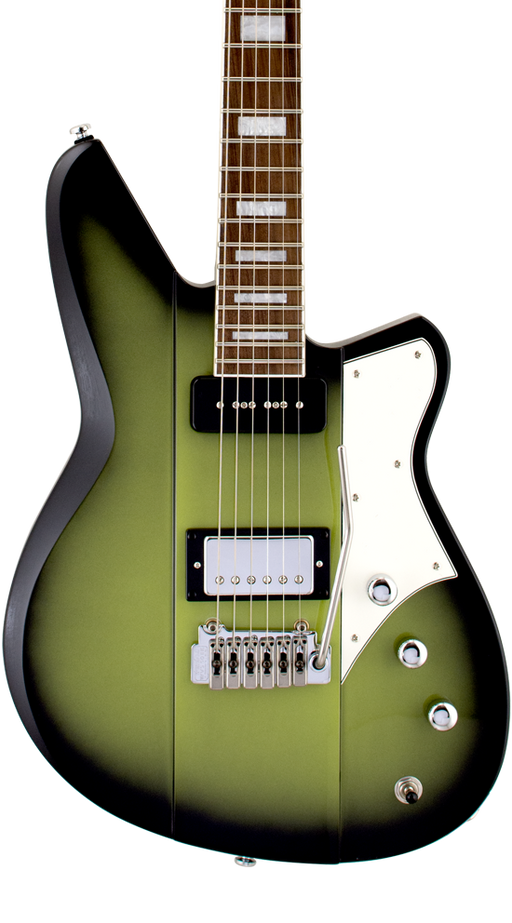 Reverend Warhawk DAW Roasted Maple Neck Electric Guitar Avocado Burst