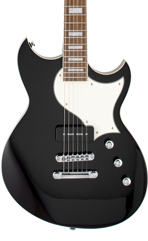 Reverend Sensei Jr. Midnight Black Electric Guitar