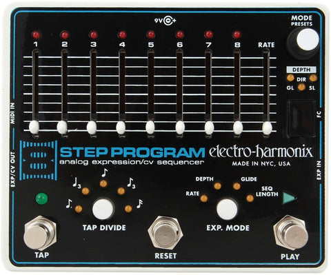 Electro-Harmonix 8 Step Program Analog Expression / CV Sequencer Pedal