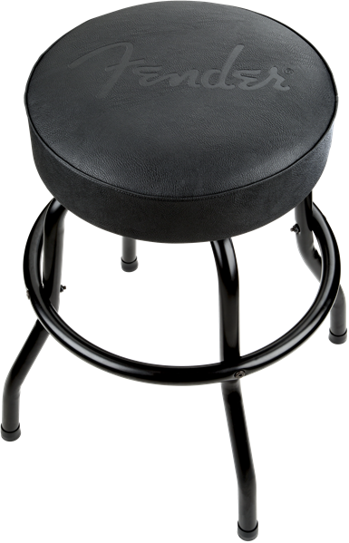 "Fender Blackout 24"" Black Barstool"