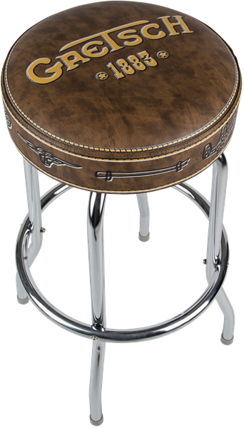 "Gretsch 30"" Barstool ""Since 1883"" Brown"