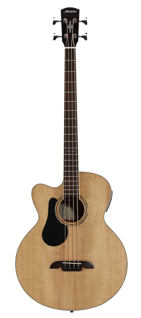 Alvarez AB-60LCE Left Handed Acoustic Bass Guitar