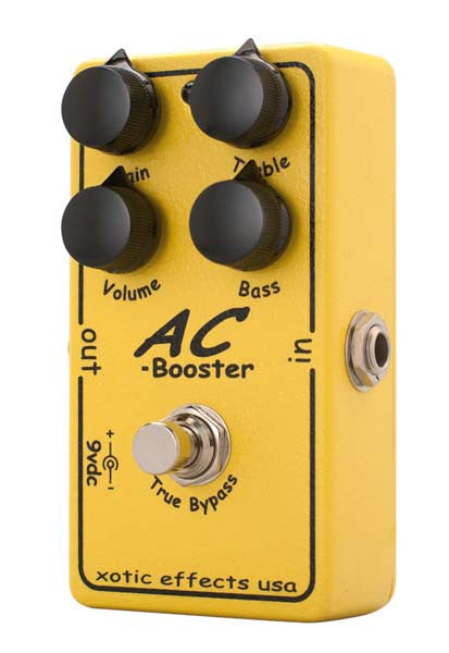 Xotic Effects AC Booster Overdrive Guitar Effect Pedal